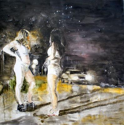 Landscape 160x160 cm Oil/Canvas 2010