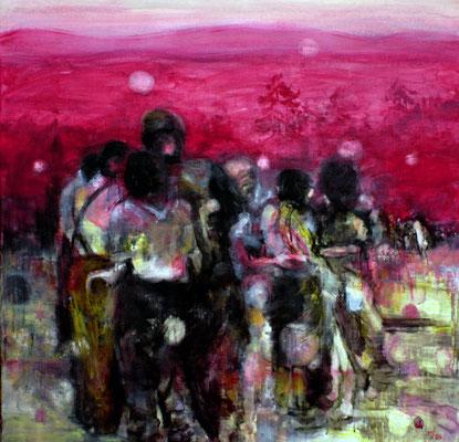 Yellows 95x100 cm Oil/Canvas 2006