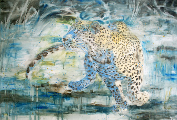 Cerulean 150x220 cm Oil/Canvas 2010