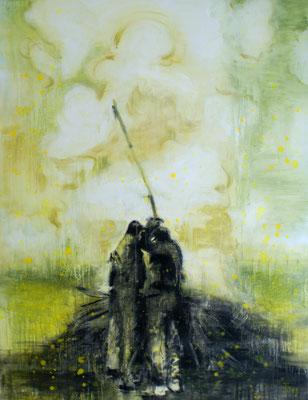 Burning 130x100 cm Oil/Canvas 2012