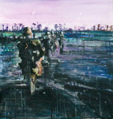 Moon 70x65 cm Oil/Canvas 2006