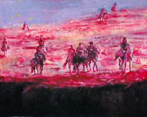 Riders 160x200 cm Oil/Canvas 2006