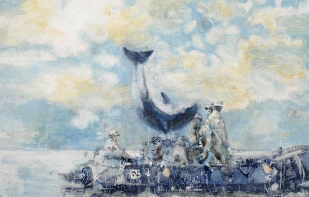 Boat 100x160 cm Oil/Canvas 2006
