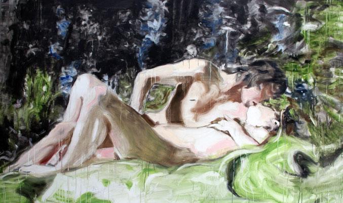 He 130x220 cm Oil/Graphite/Canvas 2013