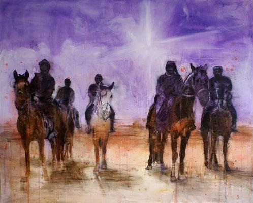 Riders 120x150cm Oil/Canvas 2012