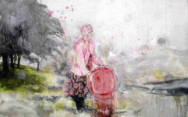 Rosa 100x160 cm Oil/Canvas 2006
