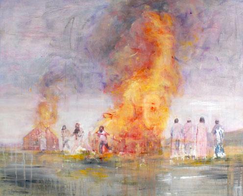 Nothing happens 160x200 cm Oil/Canvas 2009
