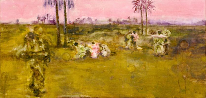Palms 65x135 cm Oil/Canvas 2006