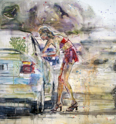 Street 150x140 cm Oil/Canvas 2011