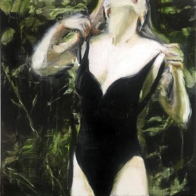 black suit_2018_60x60cm_oil on canvas