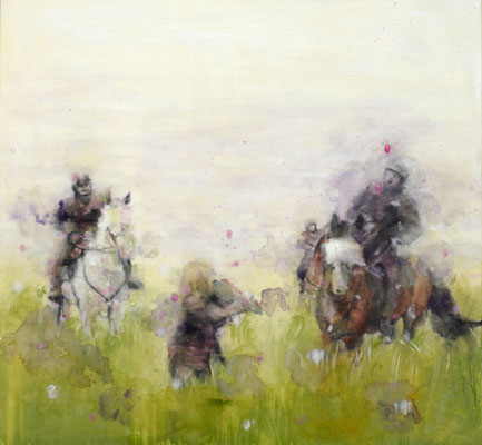 Field 150x140 cm Oil/Canvas 2007