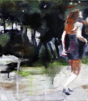 White Boots 40x35 cm Oil/Graphite/Canvas 2013