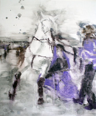 White Horse 4 60x50 cm Oil/Canvas 2011
