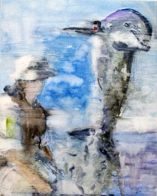 Dolphin 80x60 cm Oil/Canvas 2010
