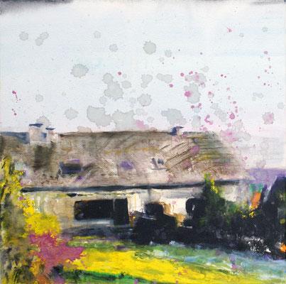 Grey House 50x50 cm Oil/Canvas 2009