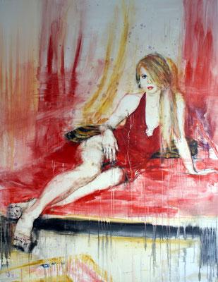 Annabell 220x170 cm Oil/Canvas 2011