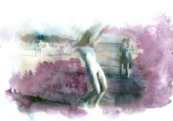Nudist 21x30 cm Ink/Paper 2014