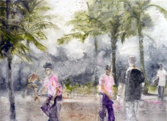 Nowhere 160x220 cm Oil/Canvas 2010