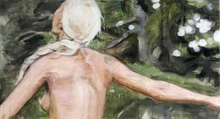 braid_2018_110x200cm_oil on canvas