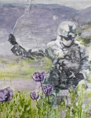 Poppies 4 220x170 cm Oil/Canvas 2011