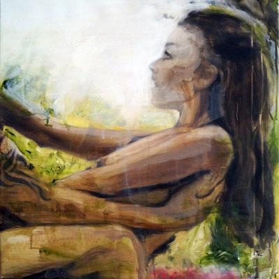 seesaw_2018_50x50cm_oil on canvas
