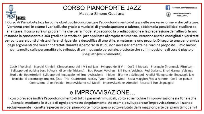 Simone Quatrana | lezioni di pianoforte jazz, moderno.