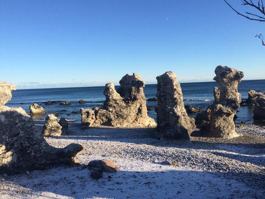 Gotland Ostküste, Folhammer, Fotokulisse, irrlichtjaeger