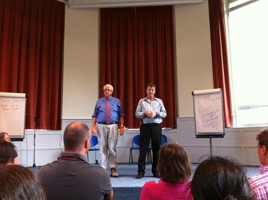 """PET"" - Steve Wells & David lake- Australia -  Brussels seminar"