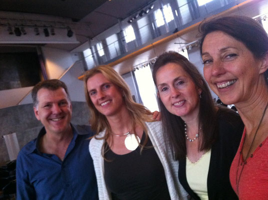 Carol Look, Caroline Dubois, Brigitte Hansoul & Steve Wells - Brussels