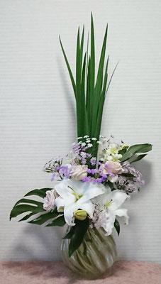 カサブランカ 生花 アレンジメント