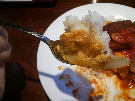 湯楽里 レストラン若紫 ボルガライス4