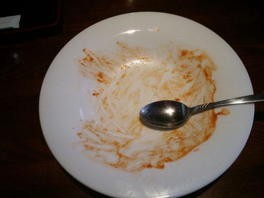 湯楽里 レストラン若紫 ボルガライス完食