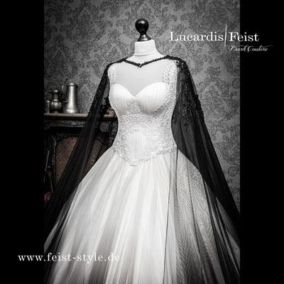 Steampunk Hochzeit, Ausgefallene Brautmode