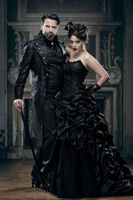 Gothic Brautkleider, Hochzeitsmode