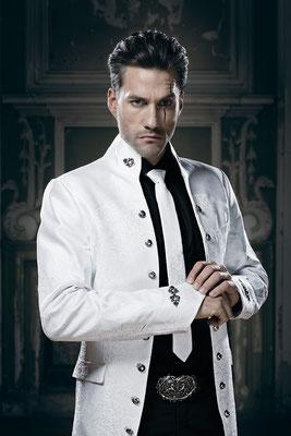 weißer gehrock, bräutigam
