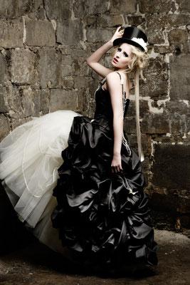Viktorianisches Brautkleid