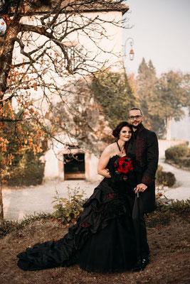 Gothic, Victorianisches Brautkleid
