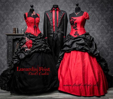 gothic brautkleider-schwarze hochzeitskleider
