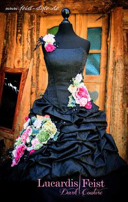 Regenbogen-Brautkleid, coole Brautkleider