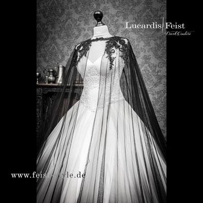 Victorianisches Brautkleid, Steampunk Brautkleid