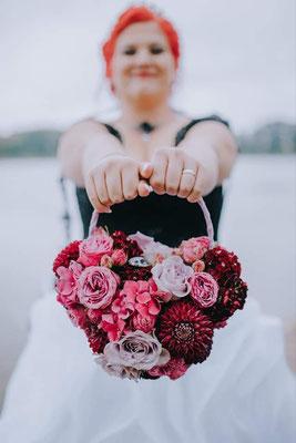 Extravagante Brautmode, Extravagantes Brautkleid
