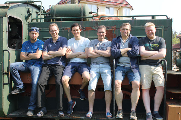 Unsere starken Männer!