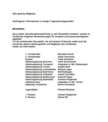 einladung zur jahreshauptversammlung - tsv-penzbergs webseite!, Einladung