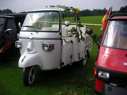 EuroApe 2010, bei Casa Moto, Bergatreute