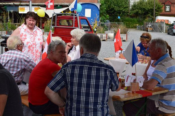 Familien Ape Treffen der IG-Ape Schweiz, in Zürich