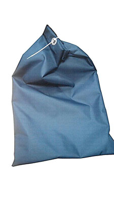 Мешки тканевые с люверсами и пломбой (для эвакуации документов). По горловине установлены кольца-люверсы таким образом, чтобы закрыть мешок на пломбу (без доступа к содержимому мешка).