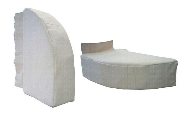 Подушка-уплотнитель на поролоне для погрузочной зоны
