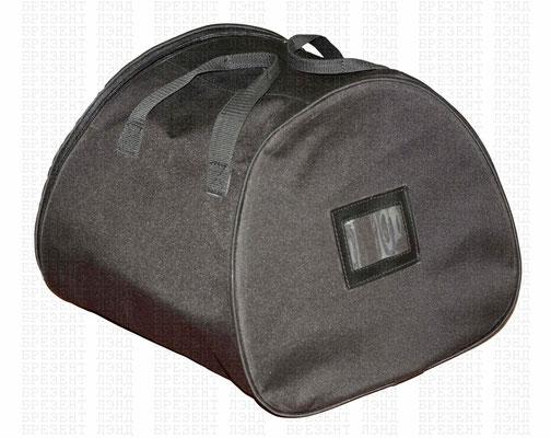 Круглая сумка из синтетической ткани для переноски шлема пожарного