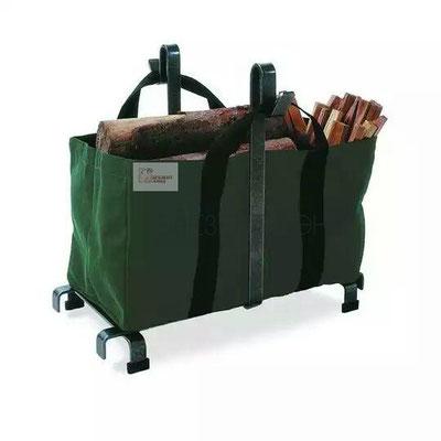 Сумка из брезента с огнестойкой пропиткой для пересноски или хранения дров