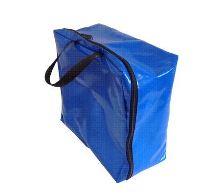 Сумка-чемодан из ткани ПВХ